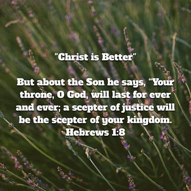 Christ Is Better – sceptre of righteousness – part. 8
