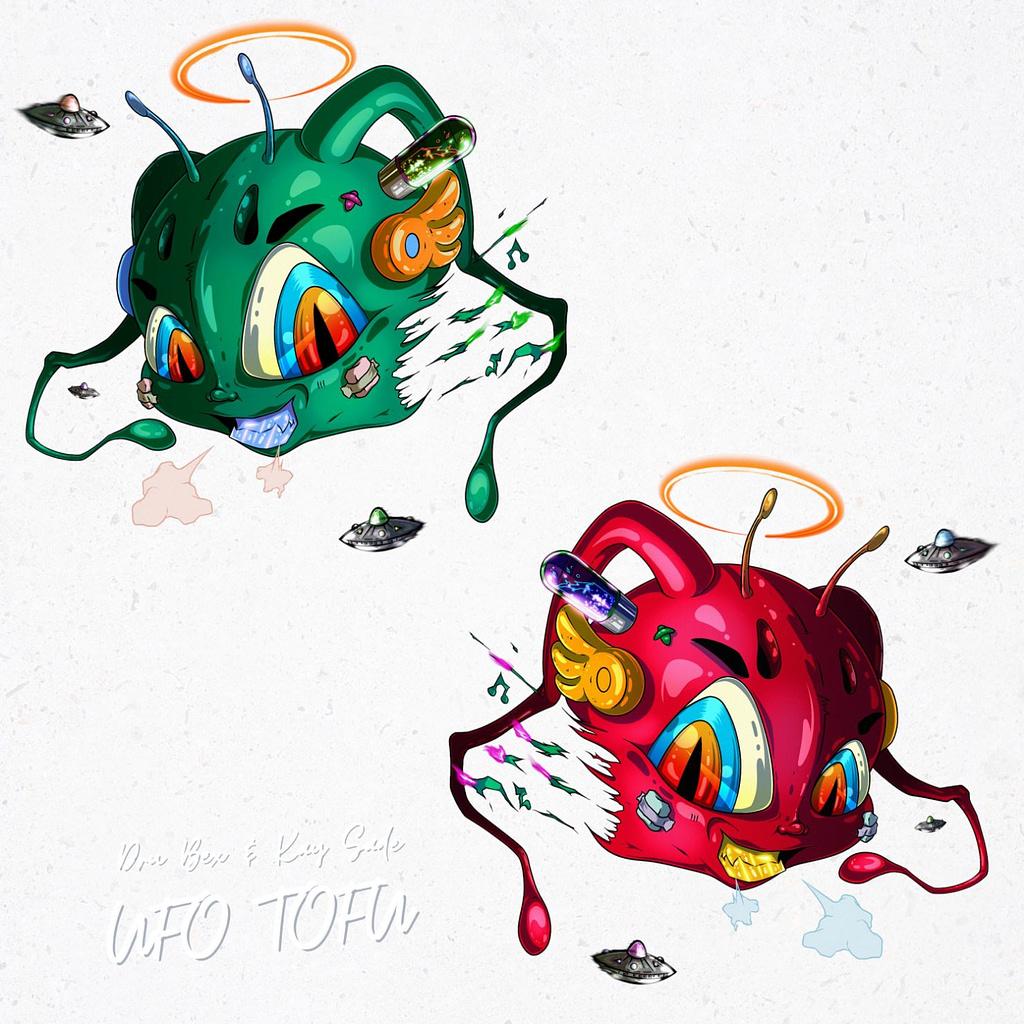 "Dru Bex and Kay Sade joint album ""UFO TOFU"""