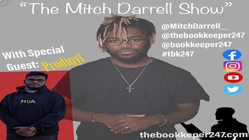 the Mitch Darrell Show episode 8 with Guest Prodigyl (YouTube)