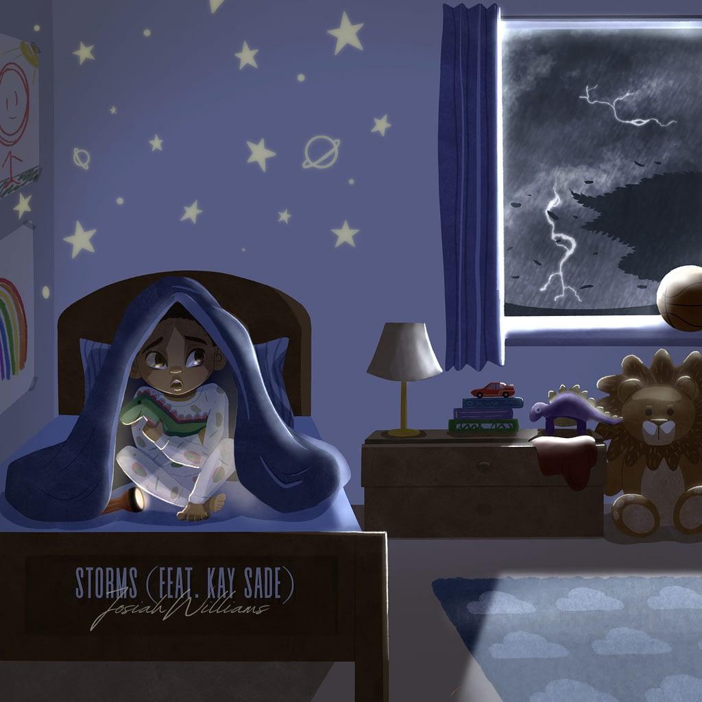 """Josiah Williams - """"Storms"""" (feat. Kay Sade)"""