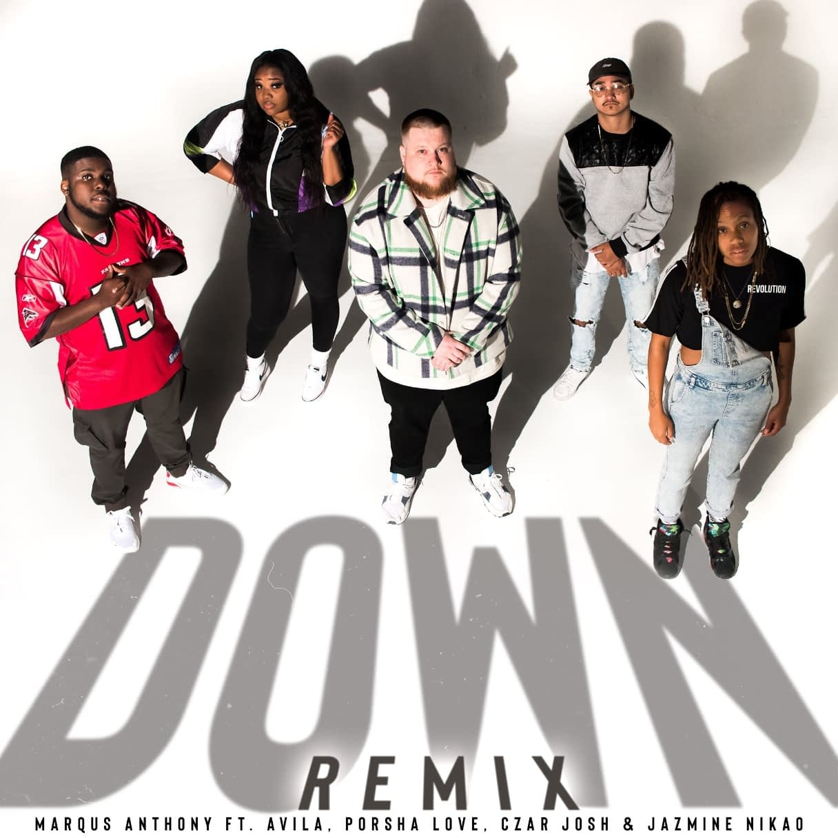 "Marqus Anthony ""Down"" Remix featuring Avila, Porsha Love, Czar Josh & Jazmine Nikao"