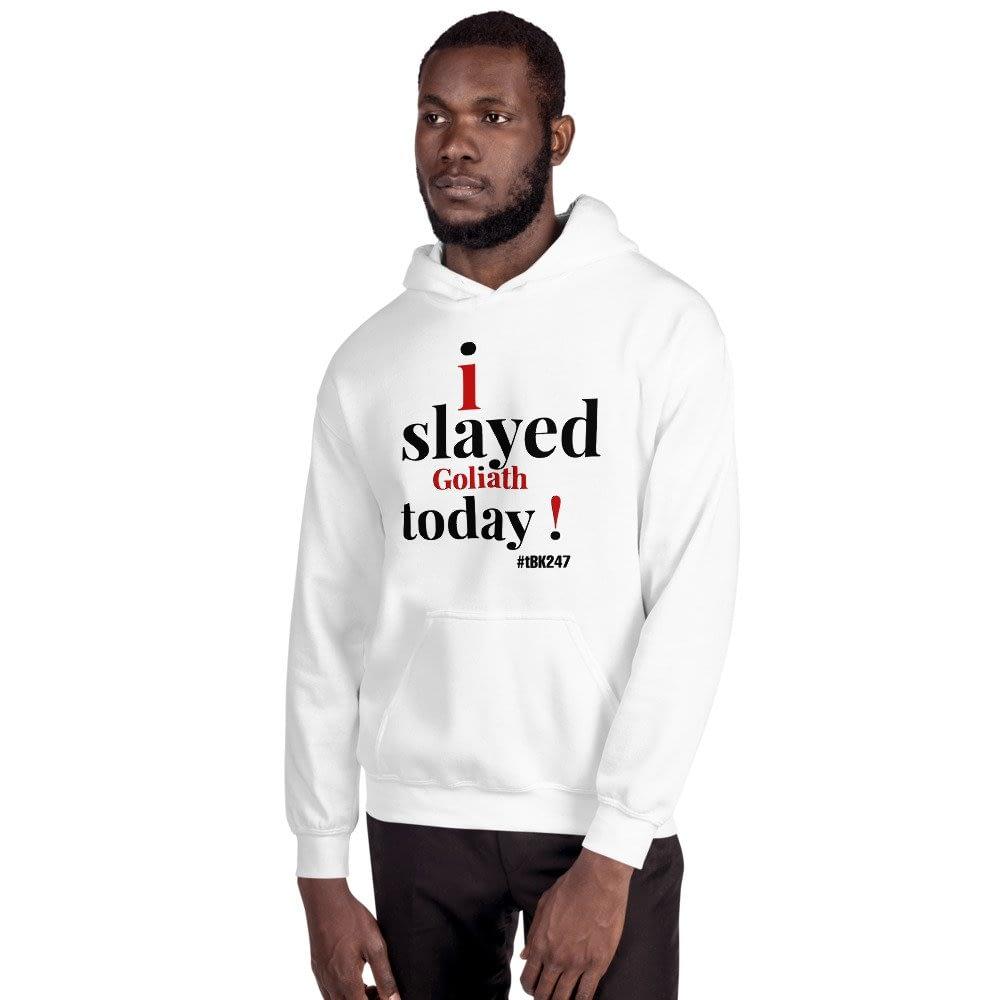 "Men's Hooded Sweatshirt ""Goliath"" Collection #tBK247hoodies"